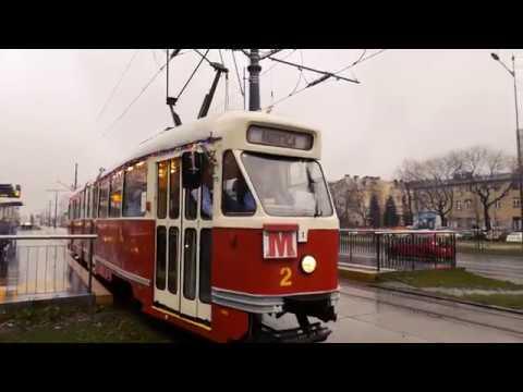 Mikołajkowy tramwaj w Łodzi