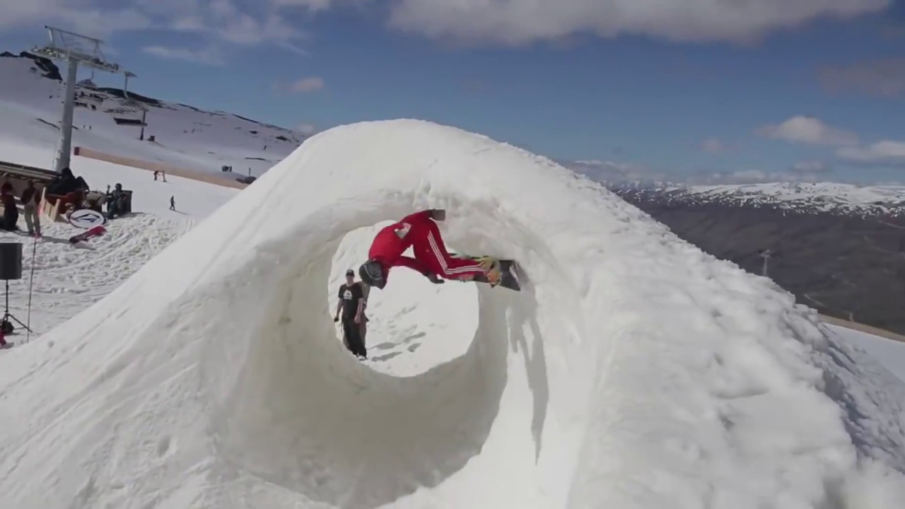 Epic Snowboarding Stunts 2018