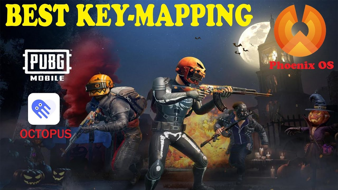 BEST KEY MAPPING for PUBG MOBILE in Phoenix OS
