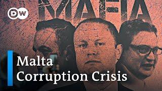 Investigation Into Journalist's Murder Causes Government Meltdown In Malta | Dw News