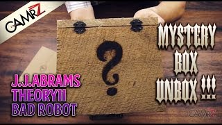 EPIC UNBOXING: J.J.Abrams & Theory11 Mystery Box!