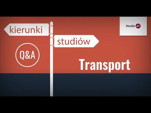 Kierunek Transport - Program Studiów, Praca, Zarobki.