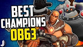 Paladins Best Champion for Each Class - OB63