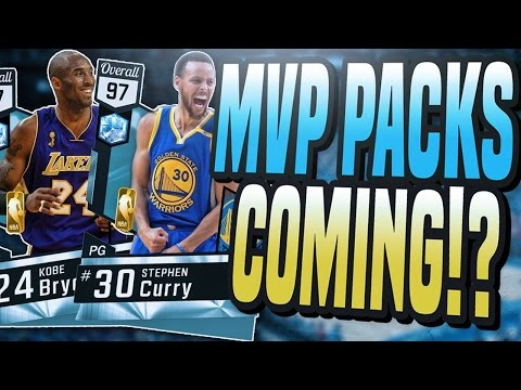 NBA 2K17 MYTEAM NEW MVP PACKS COMING? MOST OVER POWERED DIAMONDS ALL YEAR