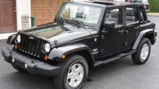 Jeep Wrangler Unlimited 4 Door (2007) Videos