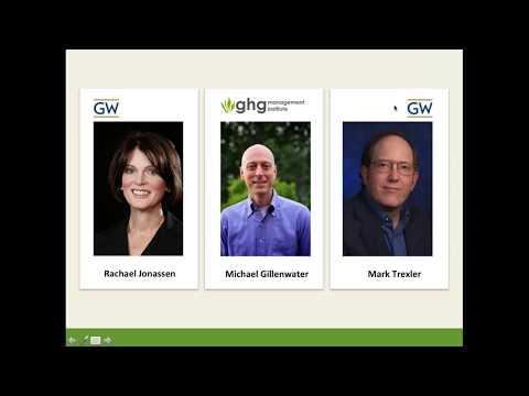 Webinar: Online Graduate Certificate in GHG Management