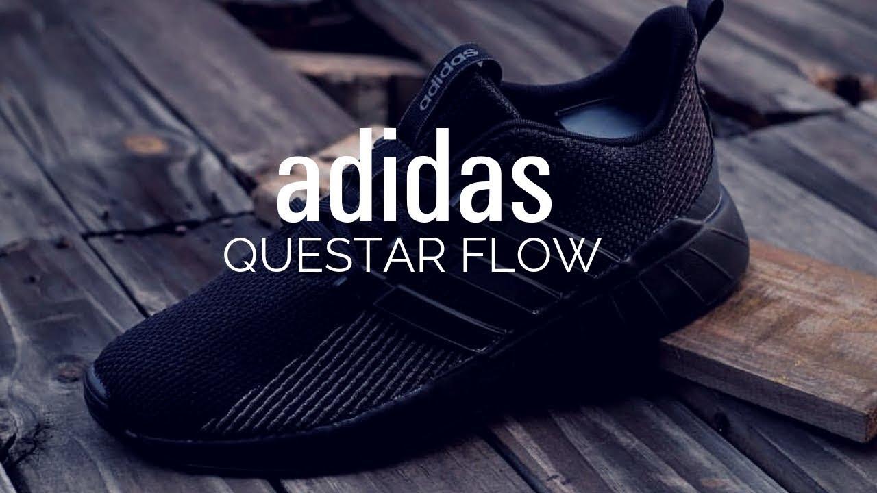c4f9c4bf0b Adidas Questar Flow Review | Blackout Edition