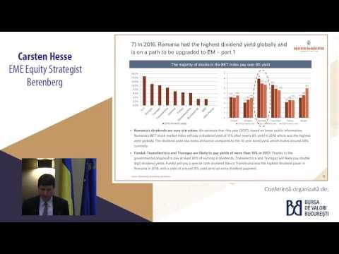 Carsten Hesse | Berenberg | Piața de Capital din România - Noile Dezvoltări Capitale