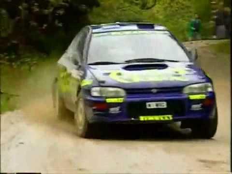 Colin McRae - WRC 1996 Footage, Subaru Impreza