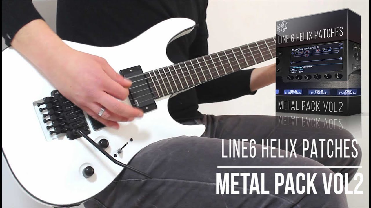 Line 6 Helix Patches | Metal Pack vol 2 | In the mix (Aria Guitars XM-9)