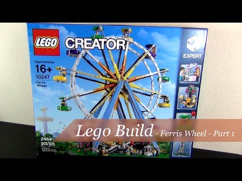 Let's Build - Lego Creator Ferris Wheel Set #10247 - Part 1