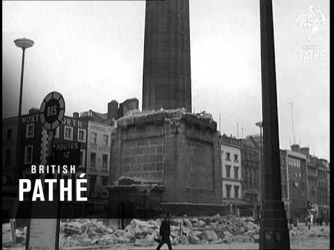 Nelson Monument Blasted (1966)