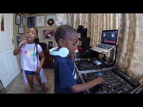 Check out Dj Arch Jnr (5yrs)  and BK (7yrs) showing of their crazy skills.