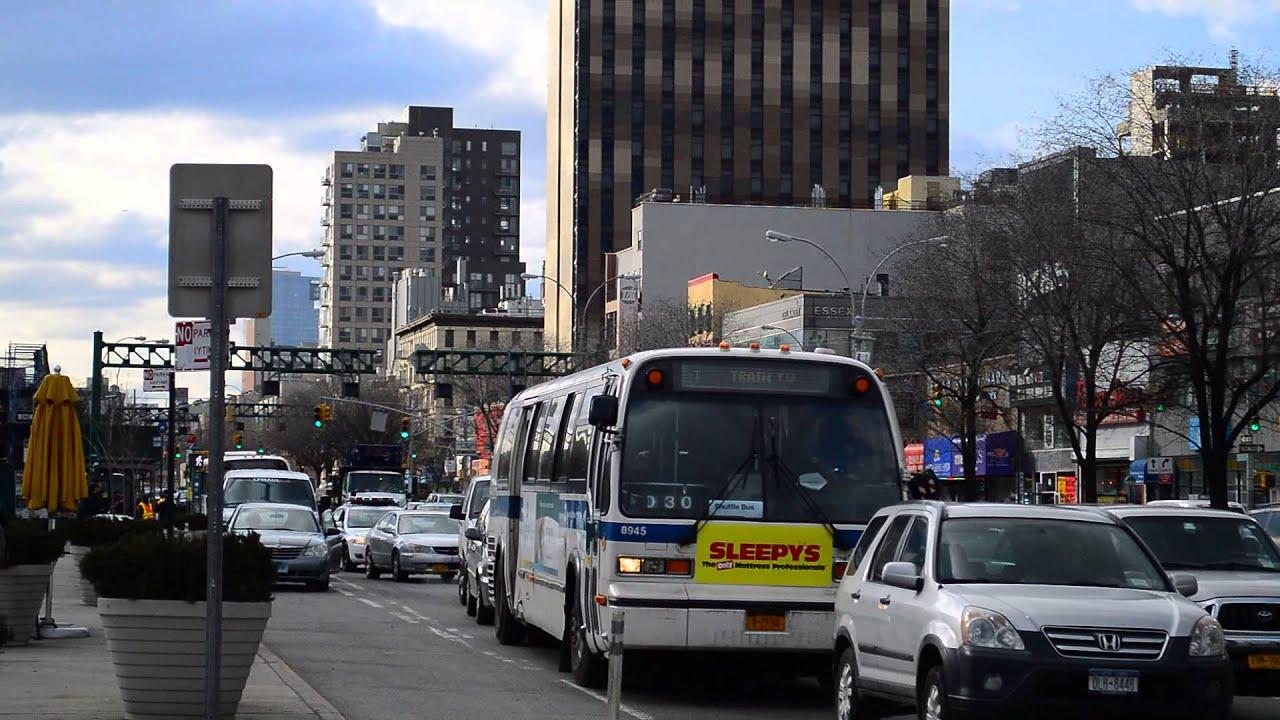 MTA New York City Bus 1996 Nova Bus RTS-06 8945 On The J