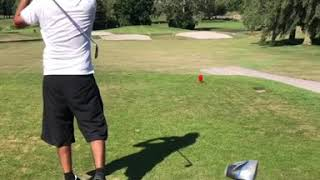 Faisal Iqbal enjoying playing Golf in England