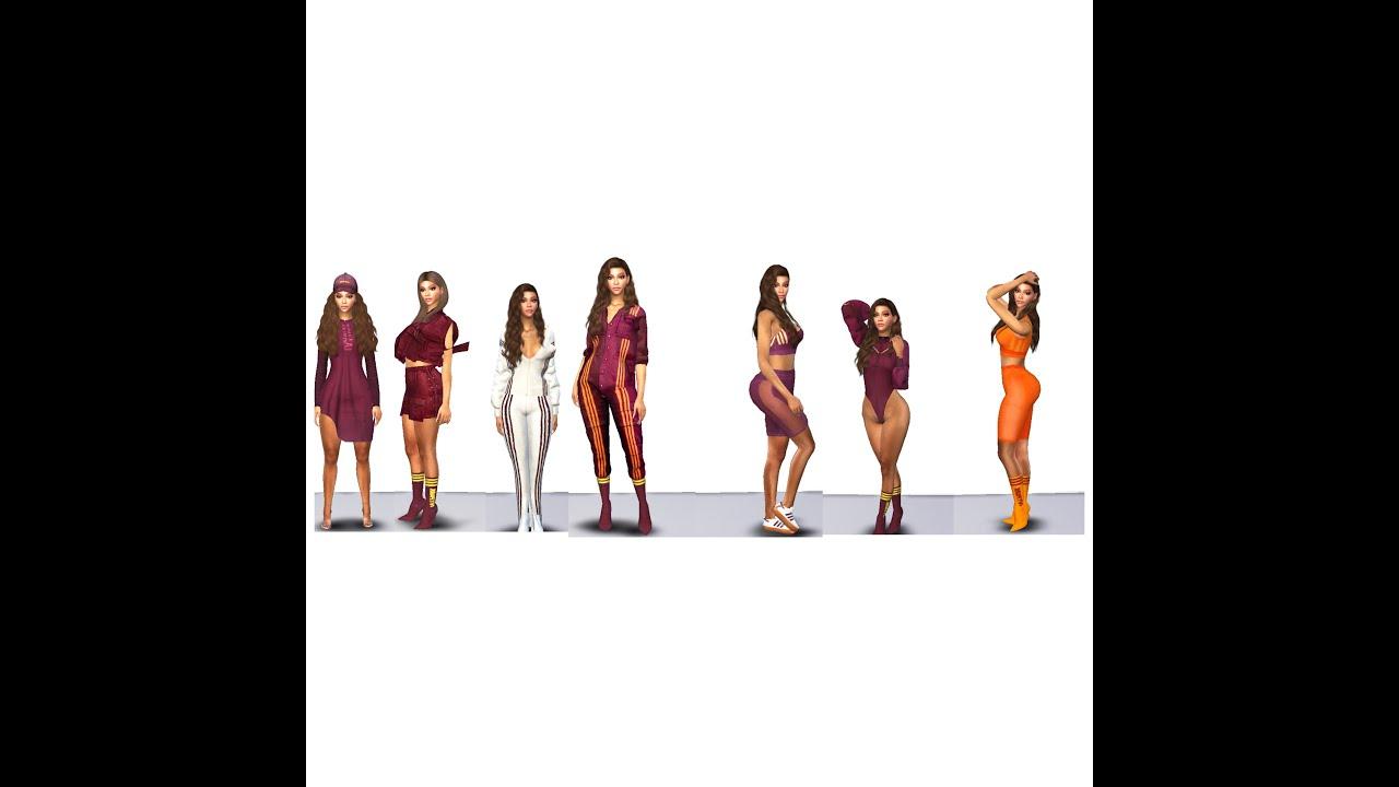 Viajero Competitivo explosión  IVY PARK x Adidas Beyonce (The Sims 4) - YouTube
