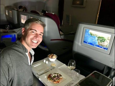 QATAR AIRWAYS BUSINESS CLASS - DOHA TO SAO PAULO