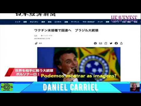 """DO OUTRO LADO DO MUNDO: TV do Japão elogia Bolsonaro e seu pronunciamento na ONU: """"ELE É INCRIVEL""""."""
