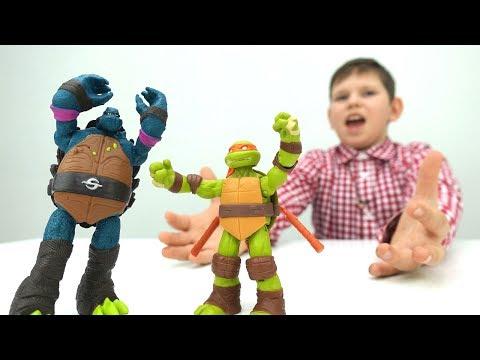 Видео для детей. Черепашки Ниндзя ИГРЫ  🐢 мультик #ЧЕРЕПАШКИ! Донателло потерял сознание! 🆘