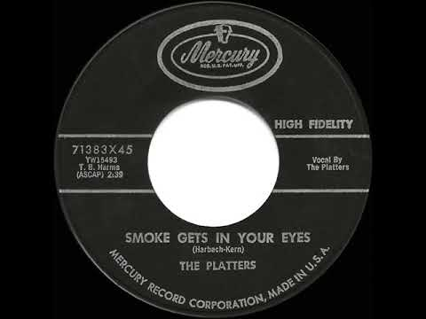 1959 HITS ARCHIVE: Smoke Gets In Your Eyes - Platters (a #1 Record)
