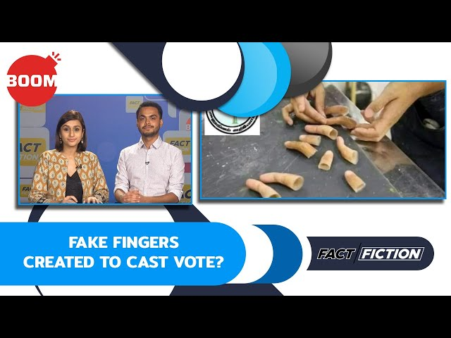 Fact Vs Fiction: Fake Fingers Created To Cast Vote?