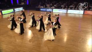 Vera Tyumen Standard Team, RUS | 2014 World Formation Standard | DanceSport Total