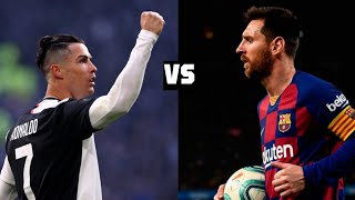 Lionel Messi vs cristiano Ronaldo 2019/20 / skils / goals / Assist / Dribbling ● Arbic commentary