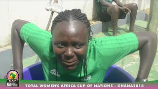 Referee preparations- Women's Africa Cup of Nations, Ghana 2018