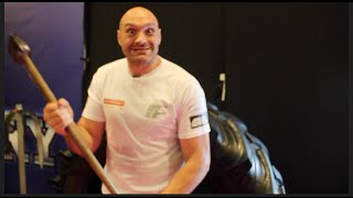 TYSON FURY - TODAY IM THE LUMBERJACK!!! IM GOING TO CHOP KLITSCHKO DOWN LIKE A BIG OLD OAK TREE