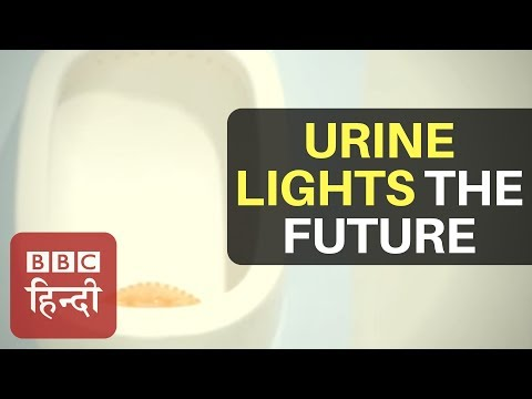 Making electricity from urine: BBC Hindi