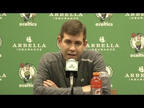 Brad Stevens, Doc Rivers React To Kevin Garnett Celtics Jersey Retirement