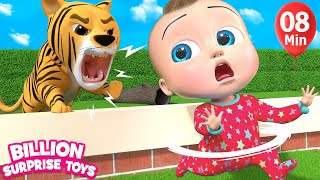 Learn Wild Zoo Animals and Sounds | BST Song for Kids