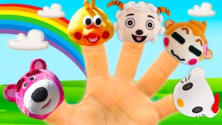Finger Family Song with funny animals | Nursery rhymes and kids song by iFinger