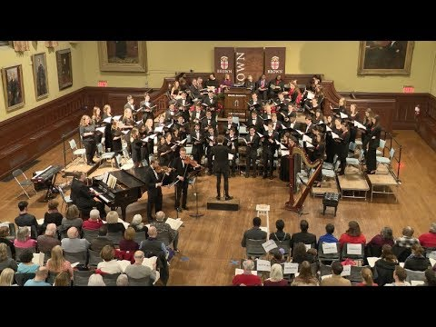 Brown University's 101st Service of Lessons and Carols