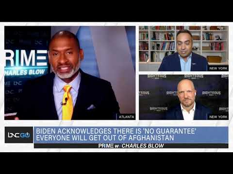 BNC: PRIME WITH CHARLES BLOW - AFGHANISTAN EVACUATION FAILINGS