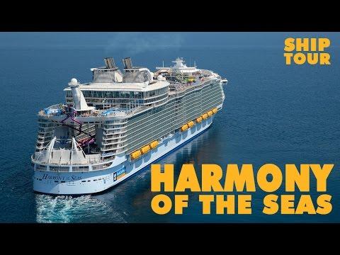 Harmony of the Seas tour. Como es el crucero mas grande del mundo
