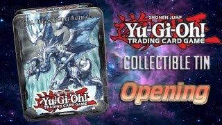 Yugioh Tidal, Dragon Ruler of Waterfalls Tin - Opening
