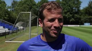 Rafael van der Vaart: 'Leuke gasten en een leuk team.'