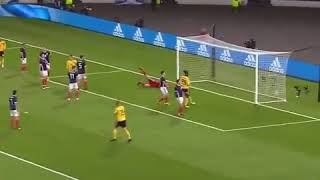 Eden hazard goal vs Scotland