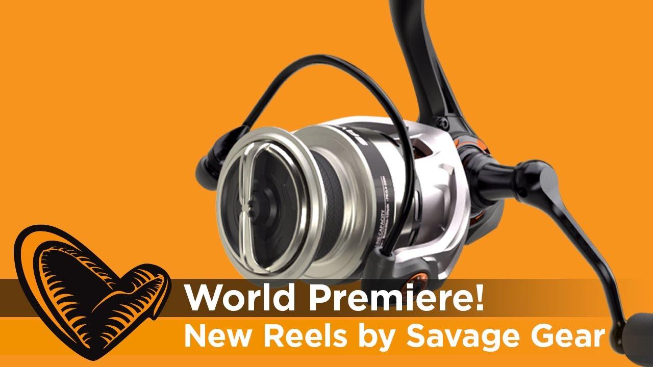 World Premiere - All New Savage Gear Fishing Reels