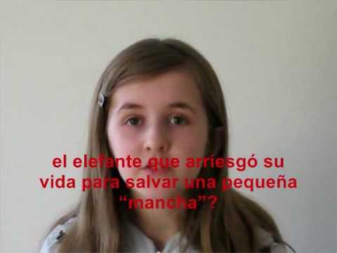 Una niña de 12 años habla del aborto y el derecho a vivir - YouTube