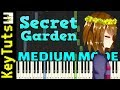Learn to Play Secret Garden from Flowerfell (Undertale AU) - Medium Mode