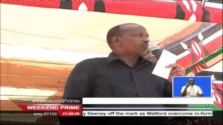 Hon Adan Duale lives in fear after  George Aladwa's hateful massage to Jubilee