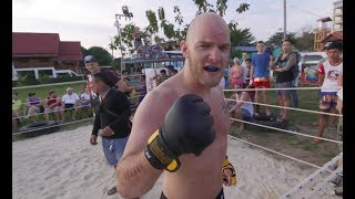 MMA Fighter vs Muay Thai in Thailand