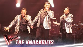 The Knockouts: The Koi Boys sing 'Greased Lightning' | The Voice Australia 2019