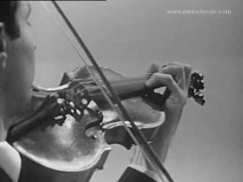 Nejmi Succari plays Sarasate and Paganini 1968- Violin- Syrian violinist