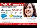 Implementing Incremental load by using Control Table | Informatica Class Room/Online Training