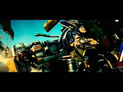 optimus prime and jetfire modification transformation (tf 2 movie / blue ray ) (hd)