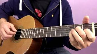 Part 1 - Moonlight sonata - Beethoven - Guitar tutorial by Joe Murphy