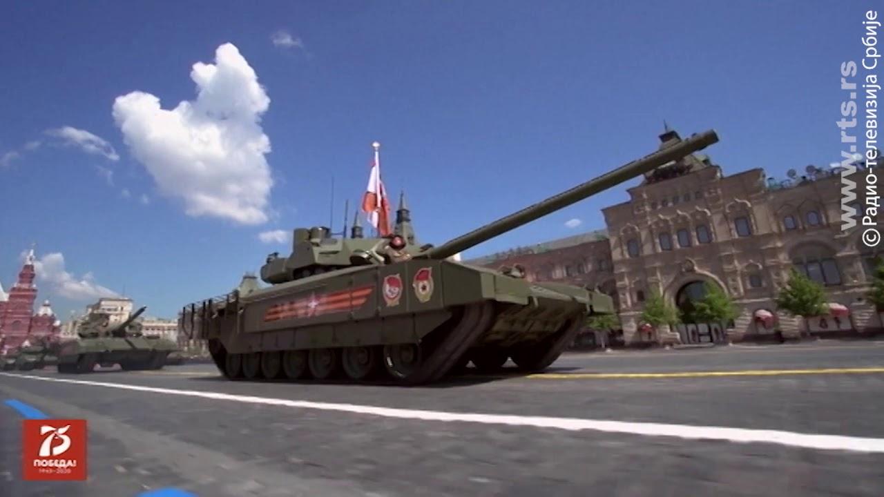 Vojna parada u Moskvi 2020 - Vojska Srbije i rusko naoružanje
